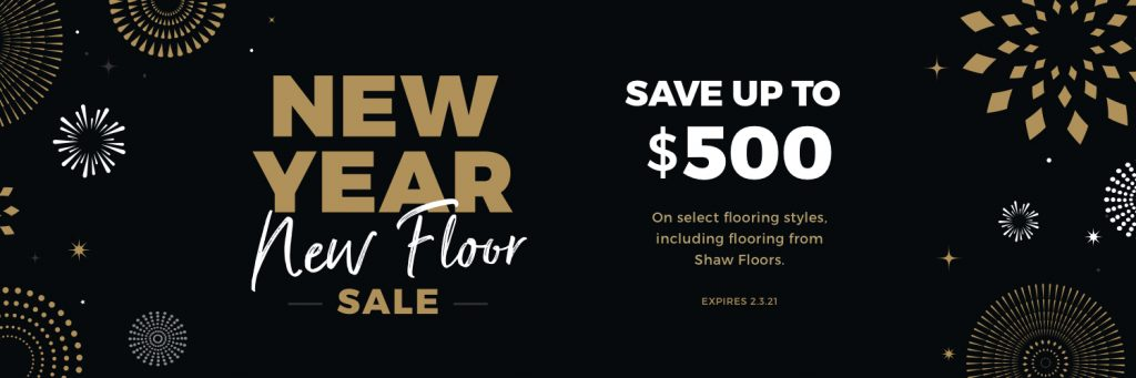 New Year New Floors Sale | H&R Carpets and Flooring