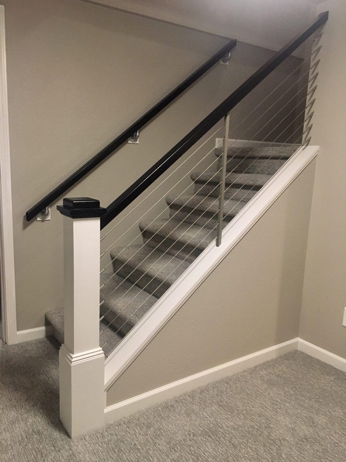 Stairway carpet   H&R Carpets and Flooring