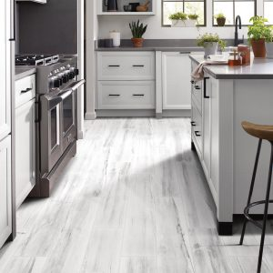 Kitchen cabinets and countertop | H&R Carpets and Flooring