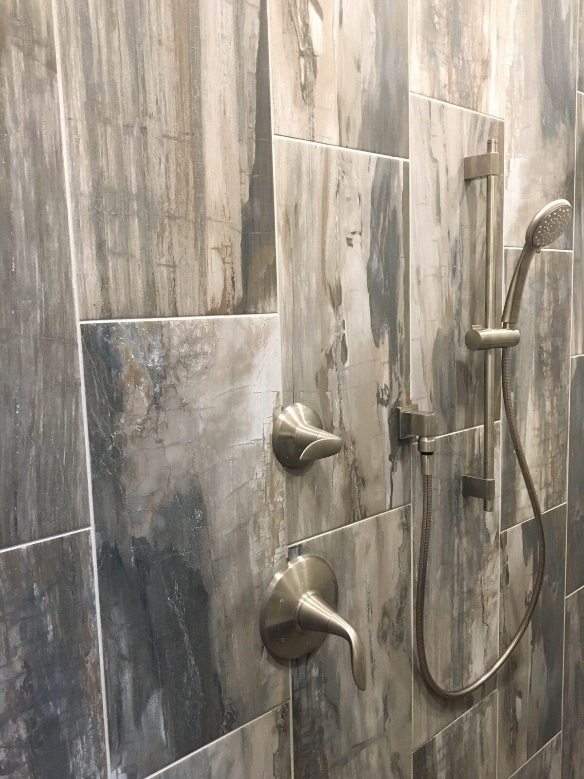 Shower room tiles   H&R Carpets and Flooring