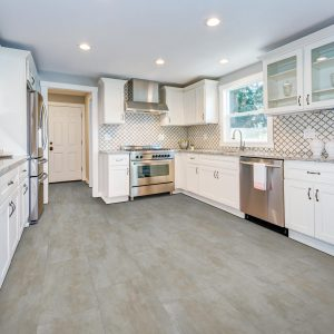 White cabinets | H&R Carpets and Flooring