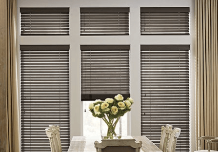 Wood metal blinds landscape | H&R Carpets and Flooring